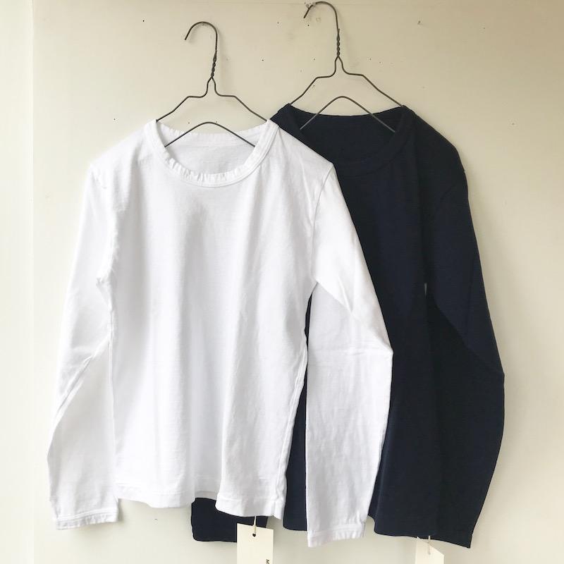 マロバヤTシャツ白05/紺06